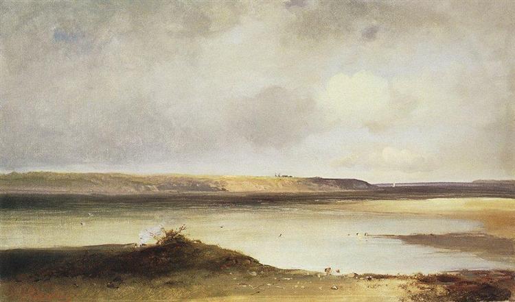 Volga, 1870 - Aleksey Savrasov