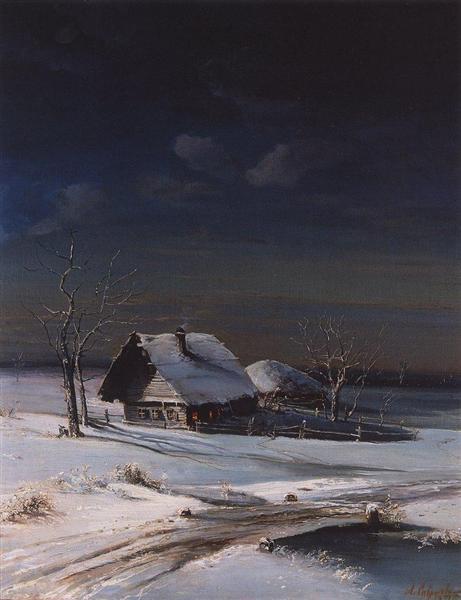 Winter Landscape, 1871 - Aleksey Savrasov