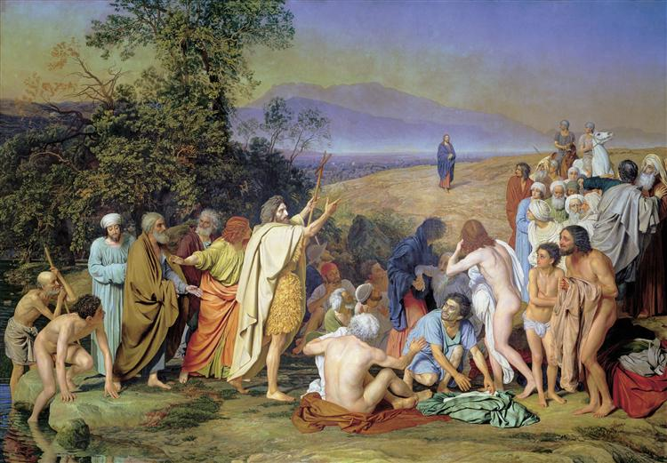 Appearance of Christ to the People, 1857 - Alexander Ivanov
