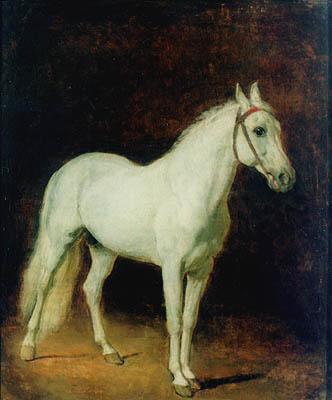 White horse. Study., 1820