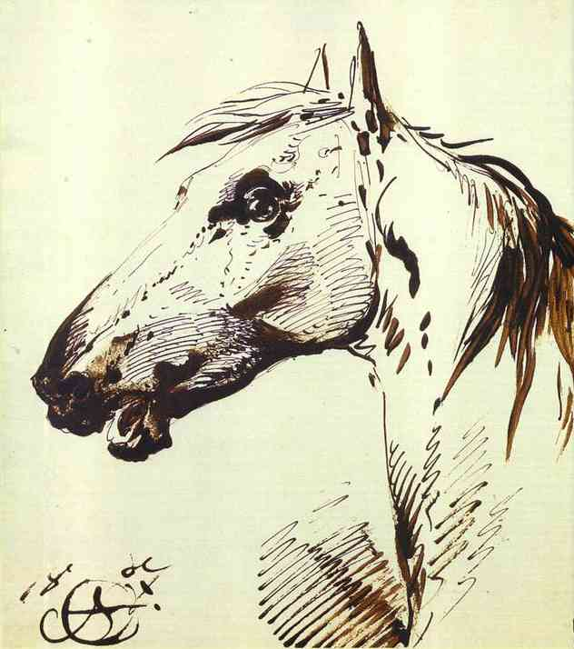 Head of a Horse, 1807