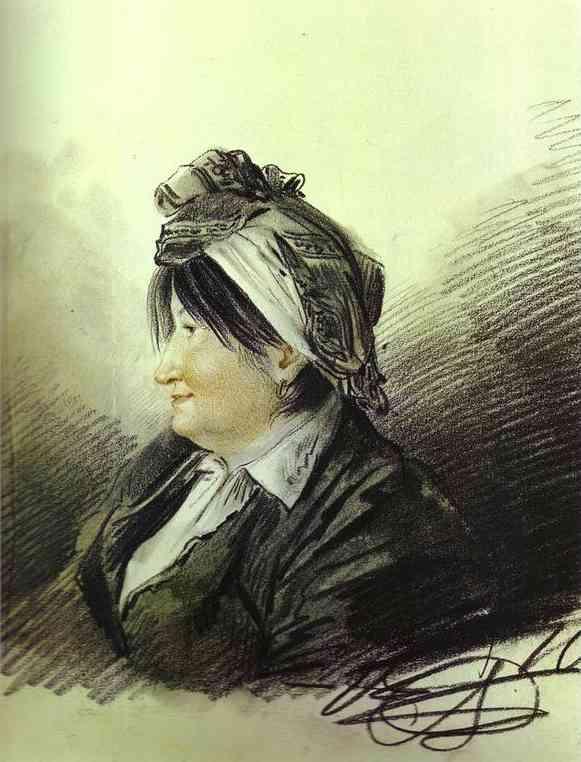 Portrait of A. M. Lanskaya, 1816