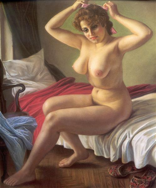 Nude, 1991 - Александр Шилов