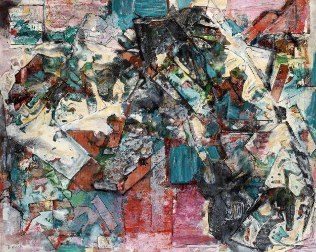 Composition vert, 1965