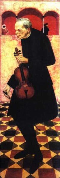 Violinist, 1915 - Олександр Яковлєв