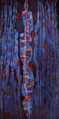L'offrande de la Terre ou Hommage à Teilhard de Chardin, 1962 - Альфред Манесье