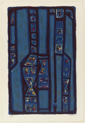Litanies, 1952 - Альфред Манесьє