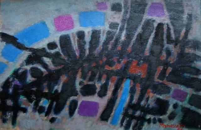 Untitled, 1957 - Альфред Манесье