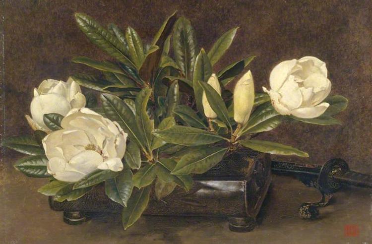 Magnolias, 1900 - Alfred Parsons