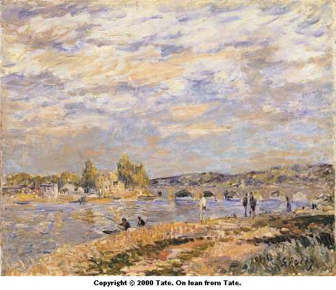 Bridge at Serves, c.1877 - Alfred Sisley