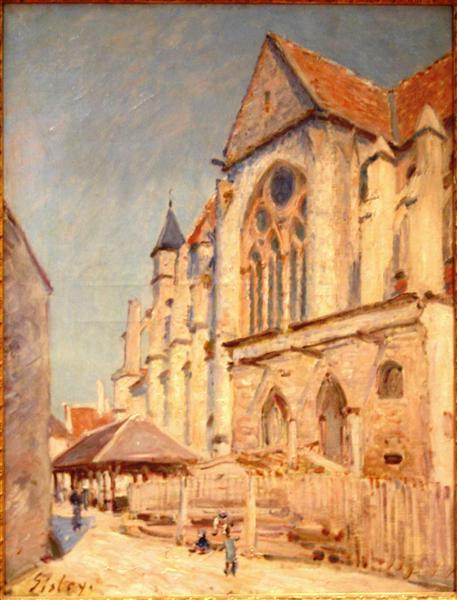 Eglise de Moret - Alfred Sisley