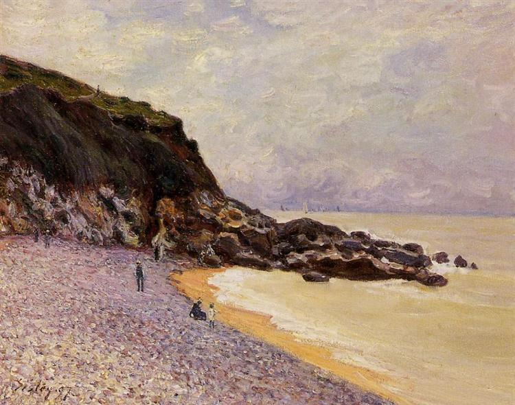 Lady s Cove before the Storm (Hastings), 1897 - Alfred Sisley