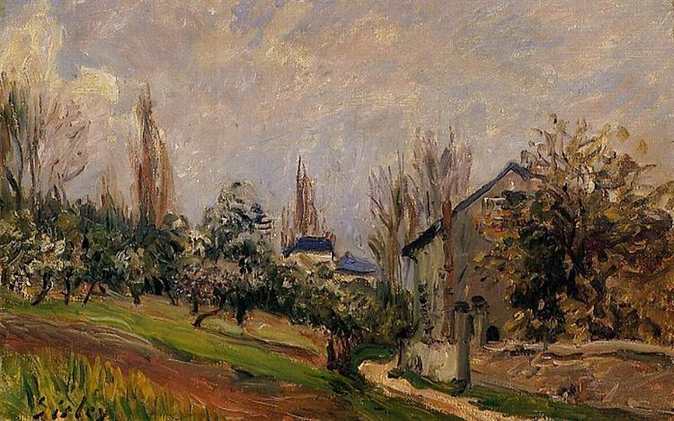 Near Moret, 1891 - Alfred Sisley