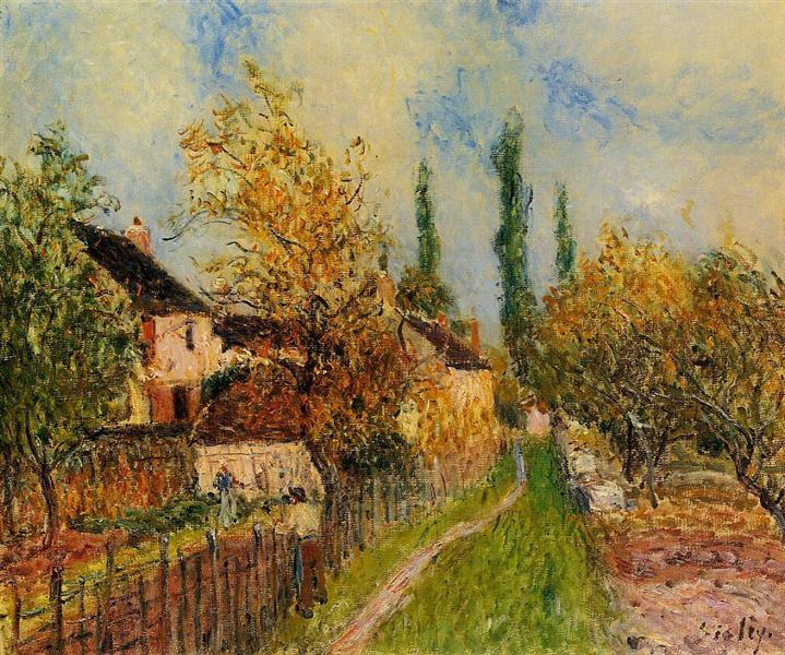Path at Sablons, c.1883 - Alfred Sisley