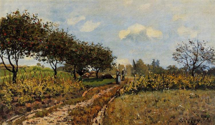 Path in the Country, 1876 - Alfred Sisley