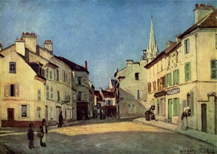 Platz in Argenteuil, 1872 - Alfred Sisley