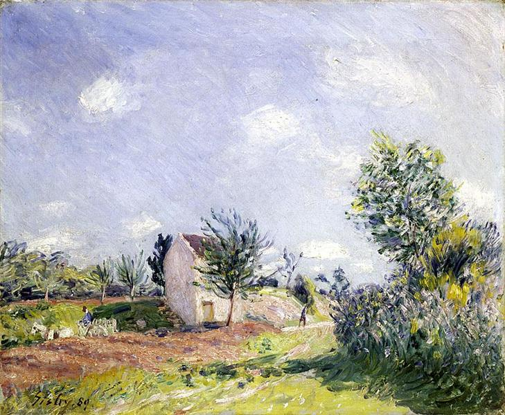 Springtime, 1889 - Alfred Sisley