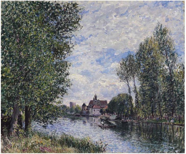 Summer in Moret, c.1881 - Alfred Sisley