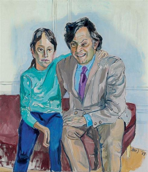 Harold and Nina Krieger, 1967 - Alice Neel
