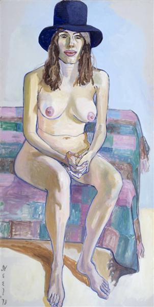 Kitty Pearson, 1973 - Alice Neel