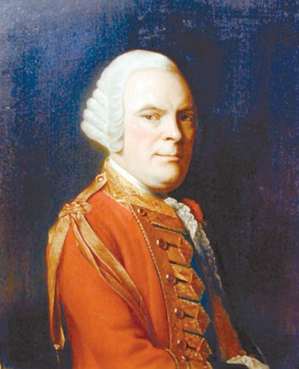 General Sir James Abercromby (also spelled Abercrombie), c.1759 - Allan Ramsay