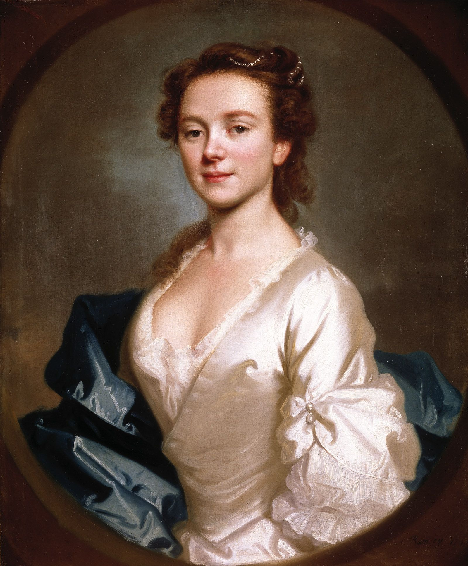 peintres anglais du XVIIIème siècle Miss-craigie-1741