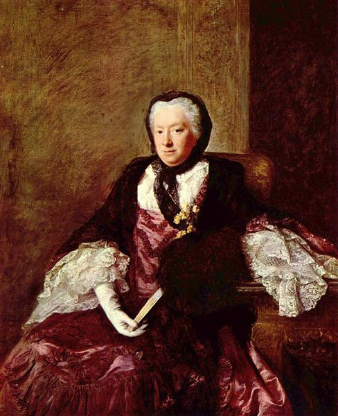 Portrait of Mary Atkins (Mrs. Martin), 1761 - Allan Ramsay