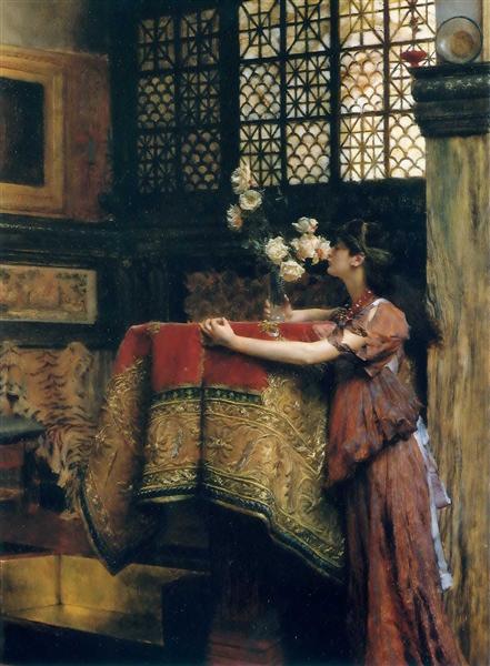 In My Studio, 1893 - Sir Lawrence Alma-Tadema