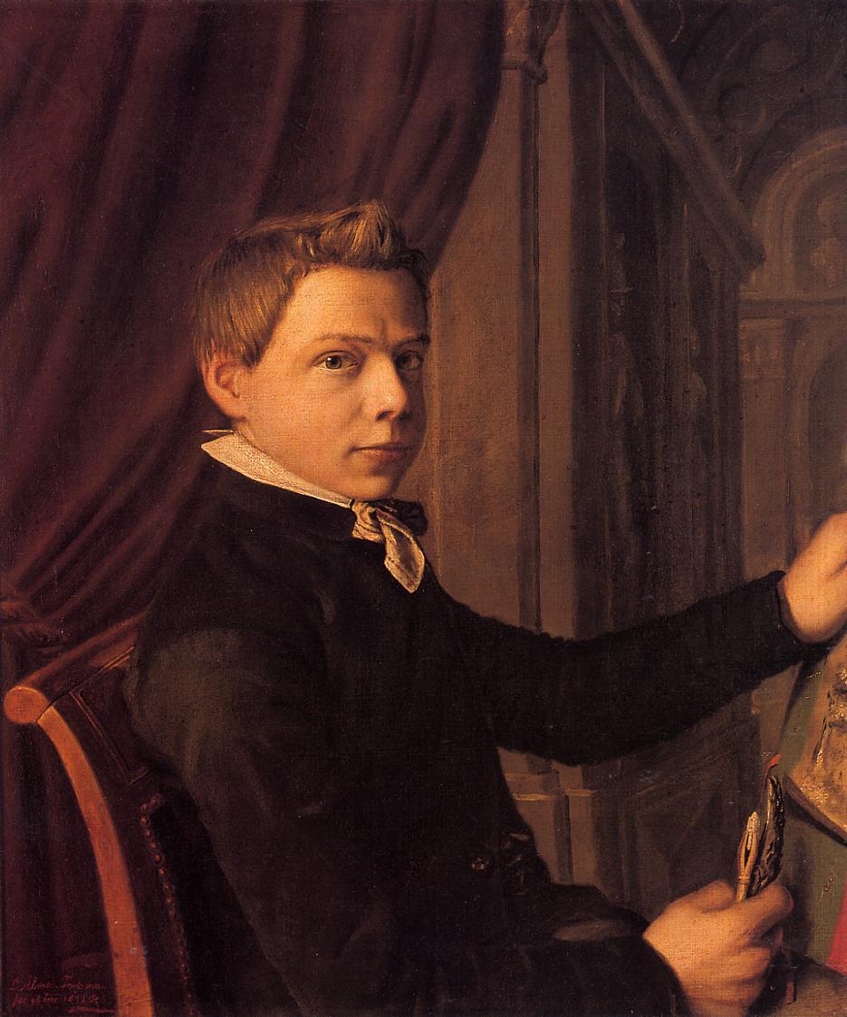 Self-Portrait, 1852