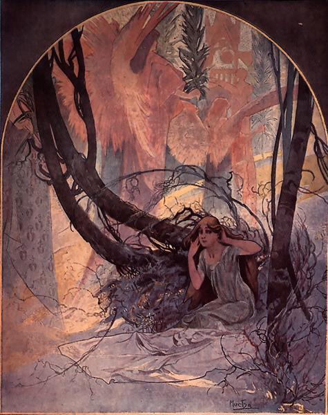 Easter Chimes Awaken Nature, 1896 - Alphonse Mucha