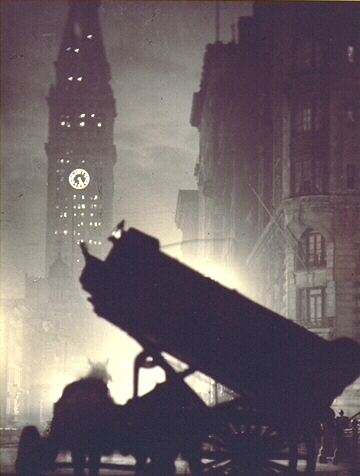 The Coal Cart, New York - Alvin Langdon Coburn
