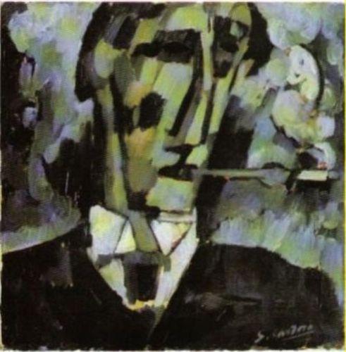 Grief. Head. Boquilha, 1914 - Amadeo de Souza-Cardoso
