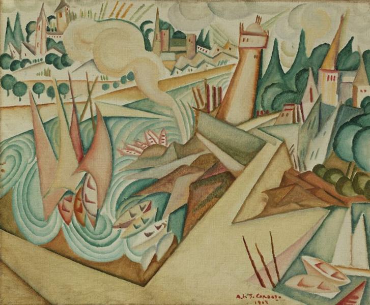 Landscape, 1912 - Амадеу ди Соуза-Кардозу