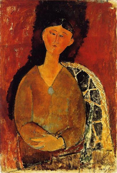 Beatrice Hastings, Seated, 1915 - Amedeo Modigliani