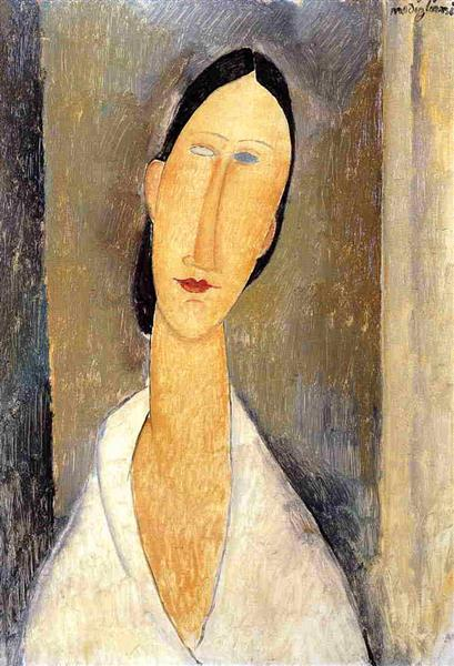 Hanka Zborowska, 1919 - Amedeo Modigliani