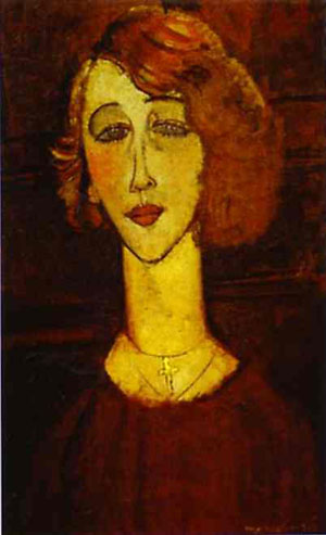 Lolotte, 1916 - Amedeo Modigliani