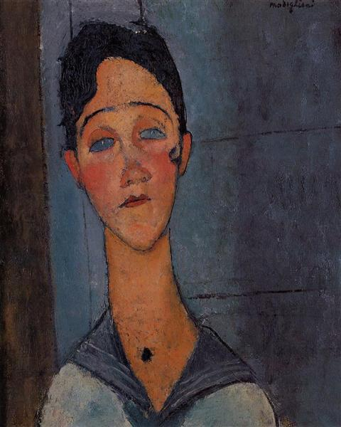 Louise, 1917 - Amedeo Modigliani