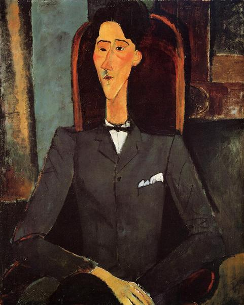Portrait of Jean Cocteau, 1917 - Amedeo Modigliani