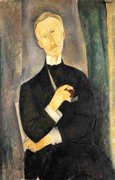Roger Dutilleul, 1919 - Amedeo Modigliani