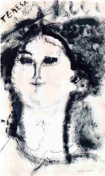 Teresa, 1915 - Amedeo Modigliani