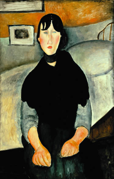 Young Woman of the People, 1918 - Amedeo Modigliani