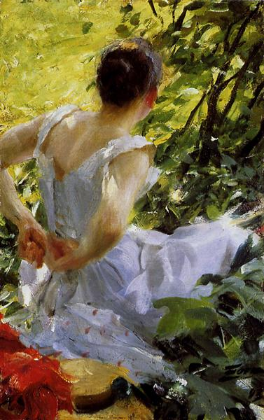 In the woods, 1893 - Anders Zorn