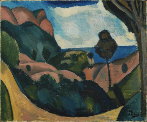 Landscape near Cassis, 1907 - Andre Derain