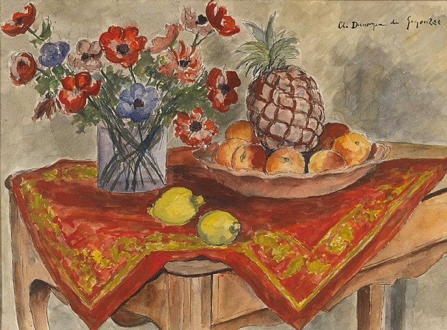 L'Ananas, 1925 - Andre Dunoyer de Segonzac