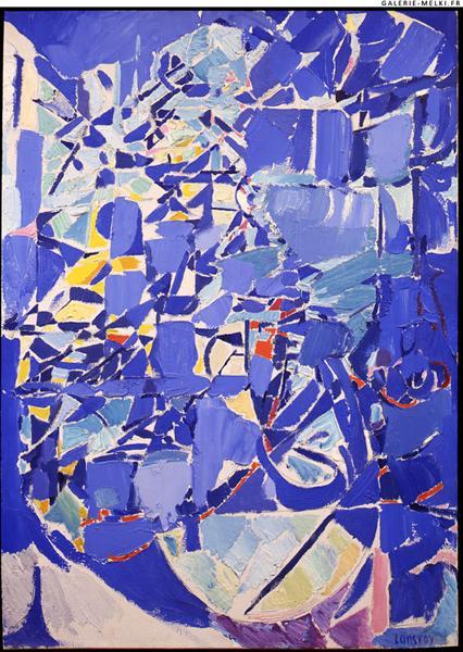 A l'ombre d'une montagne transparente, 1958 - André Lanskoy