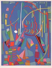 Blue Composition - Andre Lanskoy