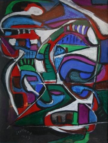 Composition, 1973 - Andre Lanskoy