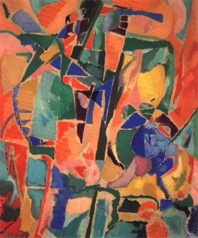 L'arque en ciel et l'arlequin, 1960 - Andre Lanskoy