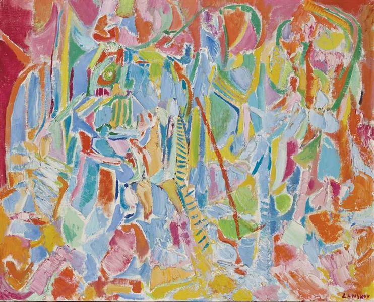 Untitled, 1972 - Andre Lanskoy