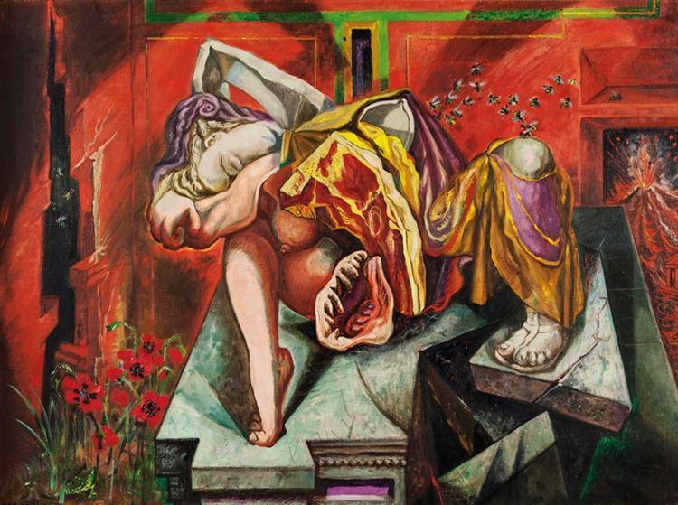 Gradiva - Andre Masson